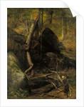 The Fallen Landmark, 1872 by William Holbrook Beard