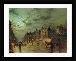 Hampstead Hill, Looking Down Heath Street, 1881 by John Atkinson Grimshaw