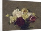 Bouquet of Roses, 1879 by Ignace Henri Jean Fantin-Latour