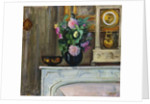 Bouquet of Flowers on the Fireplace, 1920 by Henri Lebasque
