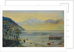 Lake Leman with the Dents du Midi in the Distance, 1863 by John William Inchbold