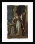 'It is I, be not afraid' - Juliet on her Balcony by Frank Dicksee