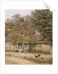 The Old Fish Shop, Haslemere by Helen Allingham