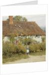 Cottage at West Horsley, Surrey by Helen Allingham