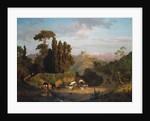 Italian Mountains, 1859 by Albert Bierstadt