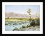 Western Landscape by Albert Bierstadt