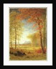 Autumn in America, Oneida County, New York by Albert Bierstadt