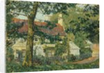 A Red-Roofed Cottage, Somerset, 1909-10 by Spencer Frederick Gore