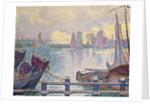 The Port of Volendam, 1896 by Paul Signac