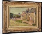 Saint-Briac, Cour a la Ville Hue, 1885 by Paul Signac