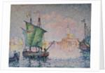 Venice - the Pink Cloud, 1909 by Paul Signac