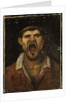 A Peasant Man Shouting by Annibale Carracci