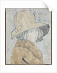 Study of a Little Girl in a Wide Brimmed Hat by Gwen John