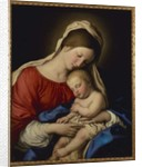 The Madonna with Sleeping Christ Child by Il Sassoferrato