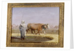 Treading out Wheat in Egypt by Jean Leon Gerome