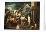 The Presentation of Pandora by Vulcan by Johann Heiss