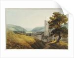 From the Churchyard at Dulverton, Somerset, 1800 by John White Abbott