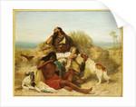 Robinson Crusoe and his Man Friday by John Charles Dollman