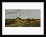 A Village at Harvest Time by Henri-Joseph Harpignies