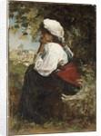 A Roman Girl by Jacob Henricus or Hendricus Maris
