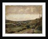 Last Days of Autumn at Hondouville-sur-Iton by Albert-Charles Lebourg