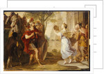 Jepthah greeted by his Daughter by Erasmus Quellinus
