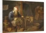 A Cobbler by David III Ryckaert