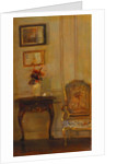 A Drawing Room Interior by Carl Holsoe