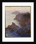 Point de Rochers, Port-Goulphar by Claude Monet