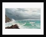 Fistral Bay, Cornwall, 1885 by David James