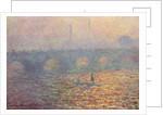 Waterloo Bridge, 1900 by Claude Monet