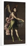 An Allegory of the Eucharist: An Angel bearing grapes by Francisco Polanco