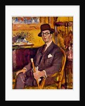 The Malacca Cane, a Portrait of Duncan Macdonald, Esq., Seated by George Leslie Hunter