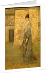 Arrangement in Flesh Color and Grey: The Chinese Screen by James Abbott McNeill Whistler