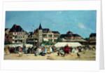 Casino de Trouville by Eugene Louis Boudin