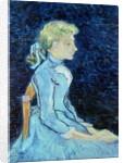 Adeline Ravoux, 1890 by Vincent van Gogh