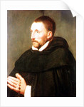 Portrait of a Dominican, thought to be Padre de Buzzara by Peter Paul Rubens