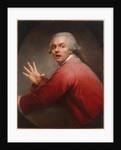 Self-portrait as a surprised and terrified man by Joseph Ducreux