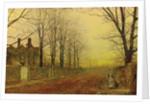 Autumn Glory, 1887 by John Atkinson Grimshaw