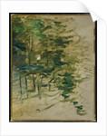 Garden, 1883 by Berthe Morisot