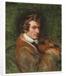 Portrait of Charles Auguste de Bériot by Emile Jean Horace Vernet