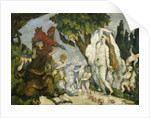 The Temptation of Saint Anthony by Paul Cezanne