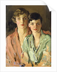 The Sisters, Joan and Marjory, 1927 by John Lavery