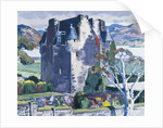 Barcaldine Castle, Argyll, c. 1928 by Francis Campbell Boileau Cadell
