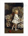Young Boy in an Interior, 1913 by Harrington Mann