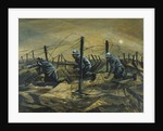 In the Trenches, 1917 by Christopher Richard Wynne Nevinson