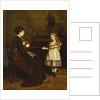 Mother's Little Helper, 1874 by George Goodwin Kilburne