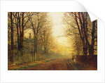 The Autumn's Golden Glory by John Atkinson Grimshaw