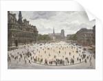 Le Place de Hotel d'Ville, Paris by Jean-Louis Lefort
