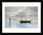 On the Venetian Lagoon by Guglielmo Ciardi